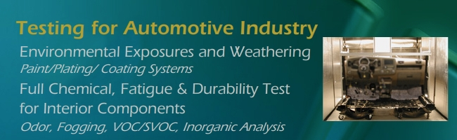 Testing for Automobile Industry