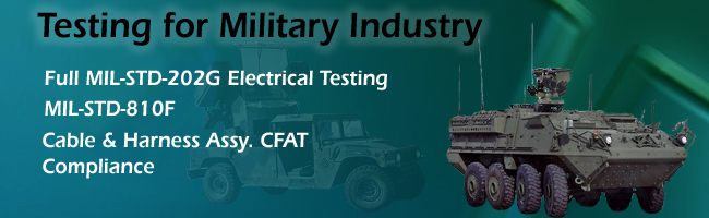 Testing For Military Industry
